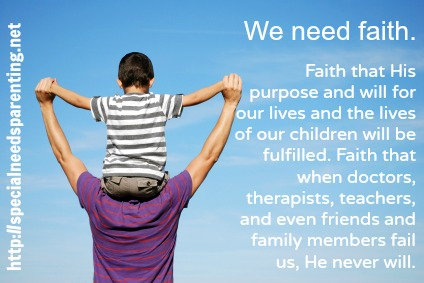 You Faith Has Made You Well -https://specialneedsparenting.net